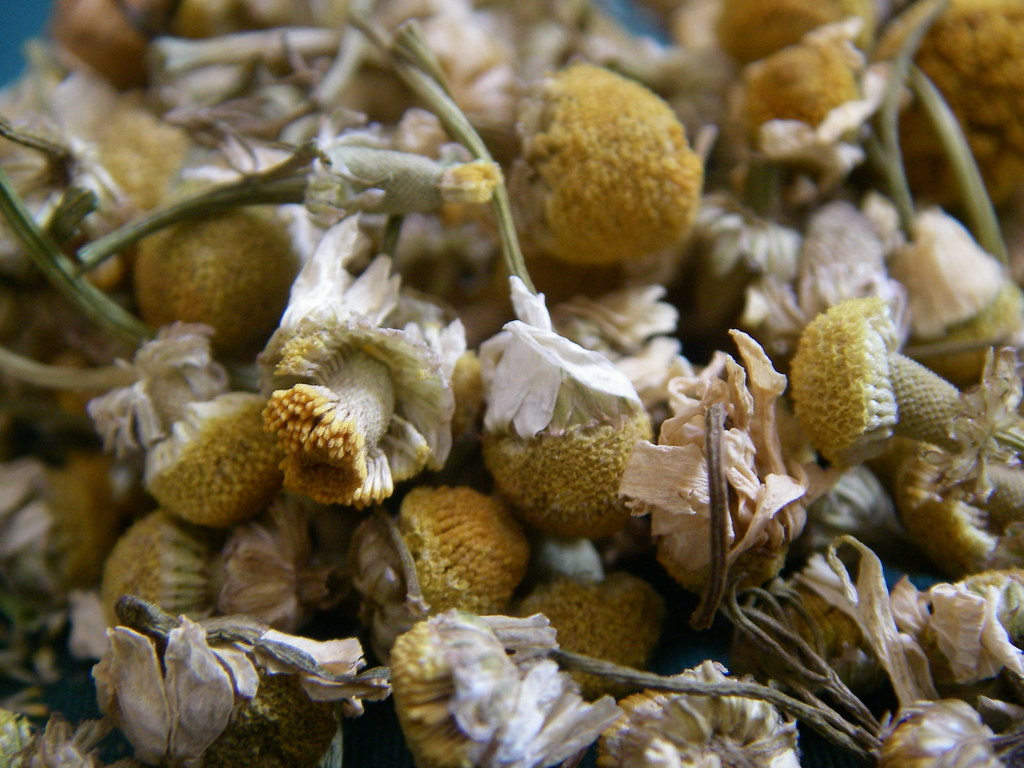 Organic Chamomile Flowers from MisticalAcScents.etsy.com