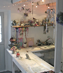 part of my atelier today (pamela.angus) Tags: glass corner studio artist angus stained workshop pamela workbench atelier