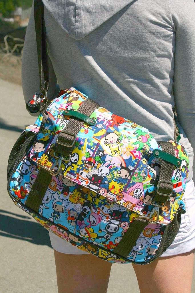 Tokidoki messenger bag