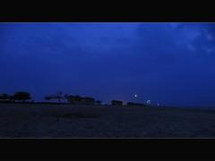 .blue. (zuwayer) Tags: blue sky clouds bahrain nikon hut coolpix p80 zallak
