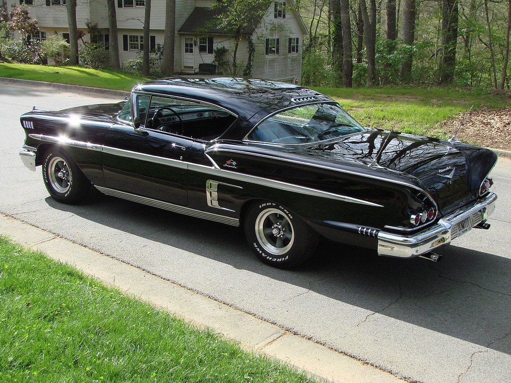 For Sale:  1958 Impala Black 502