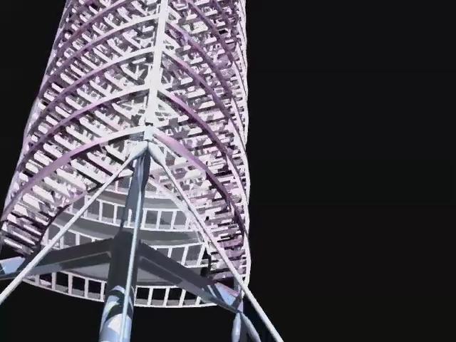 Torre de Collserola - Sir Norman Foster  -  Animación