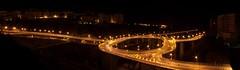 La Rotonda - Catanzaro (Viditu) Tags: light italy night italia traffic rotonda tunnel ponte trail luci cz calabria notte lampioni galleria catanzaro tangenziale viadotto scie traforo