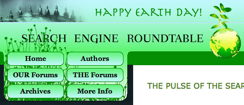Earth Day Theme at SERoundtable.com