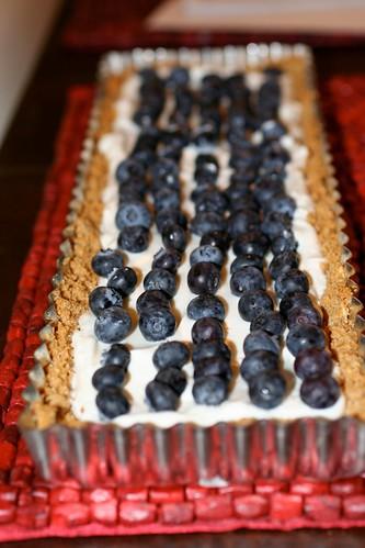 Honeyed Blueberry Tart