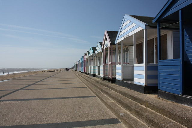 The Beach huts - Southwold