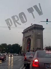 tv1 (iamavirus2004) Tags: rainy bucharest trafic citytrafic