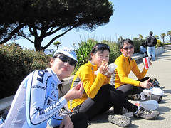 (Very late) lunch rest at Sausalito