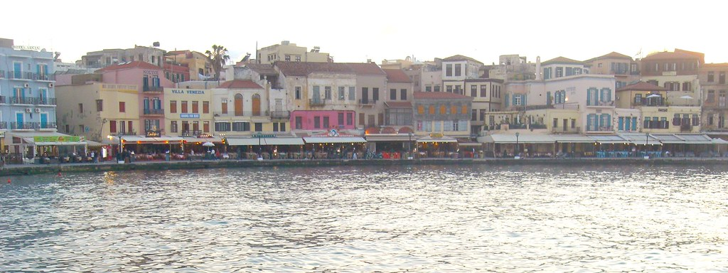 hania chania old port venetian harbour