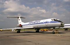 Tupolev Tu-134 RA-65011 Aeroflot  Kaliningrad Airport (emdjt42) Tags: airport tupolev aeroflot kaliningrad tu134 ra65011
