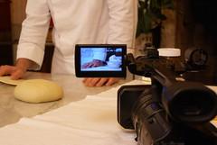 Backstage insieme a Italian Food Net International