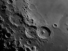 Theophilus, Cyrillus, Catharina and friends (Steve Roche - AstroPhoto) Tags: ireland irish moon steve crater astronomy lunar waterford deise catharina irishastronomy theophilus cyrillus deiseastronomy competition:astrophoto=2009