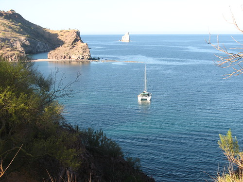 Agua Verda with a Catamaran