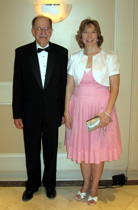 Dad and Alyce at the Banquet (Click to enlarge)