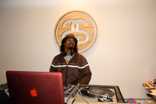 Dam Funk at Stussy