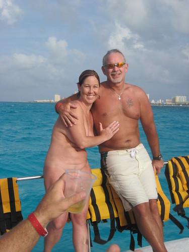 Guys fondling nude girls