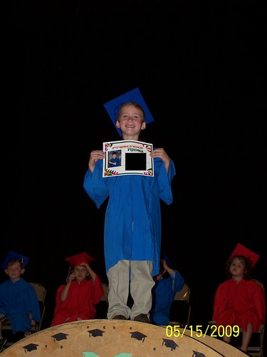 Jacob with diploma