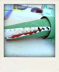 .knutsel een krokodil