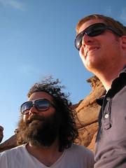 3540972160_e1d2ea59d2_o (moultonian) Tags: sunset southwest reflection sunglasses utah arches moab archesnationalpark fourcorners delicatearch americansouthwest