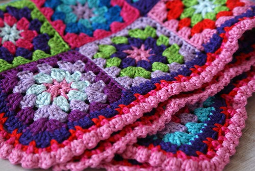 afghan for a doll stroller
