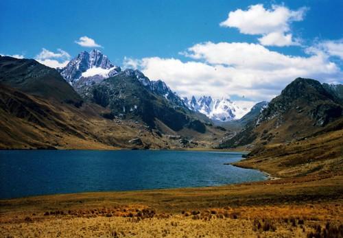 Paisaje andino Perú
