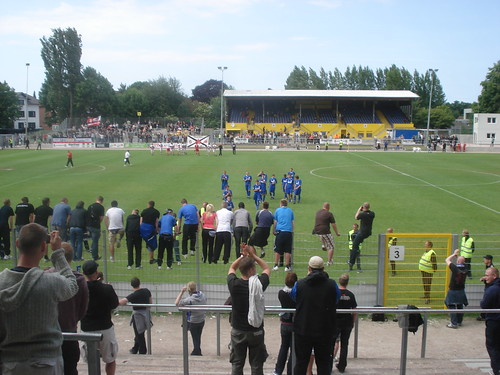 Altonaer FC von 1893 gegen FC Hansa Rostock II