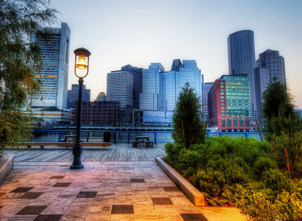 The Park in Boston (by Stuck in Customs)