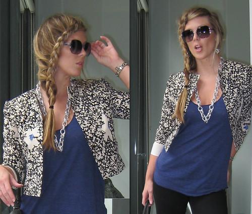 french-braid-flower-blazer-skinny-jeans-3