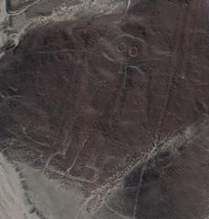 The Astronaut - Nazca Lines - Peru (not too shabby) Tags: mountain peru lines ground astronaut dirt too mountians nazcalines nazca shabby insciption geoglyph nottooshabby not theastronautnazcalines