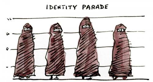 Burqa Cartoon