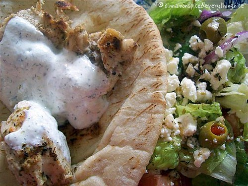 Greek Souvlaki Platter