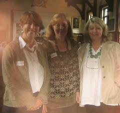 Celia Rees, Linda Newbery and Penny Dolan