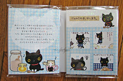 Inside illustrations (esmereldes) Tags: cats cat kitty kitties blackcats img5275 kutusitanyanko sockskitty