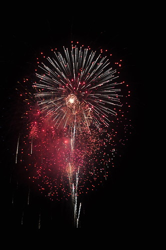 July 4 Fireworks Photo by Ray Gordon