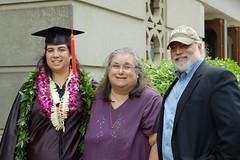 Dad's Side (GirlOnAMission) Tags: family grandma dad graduation may 2009