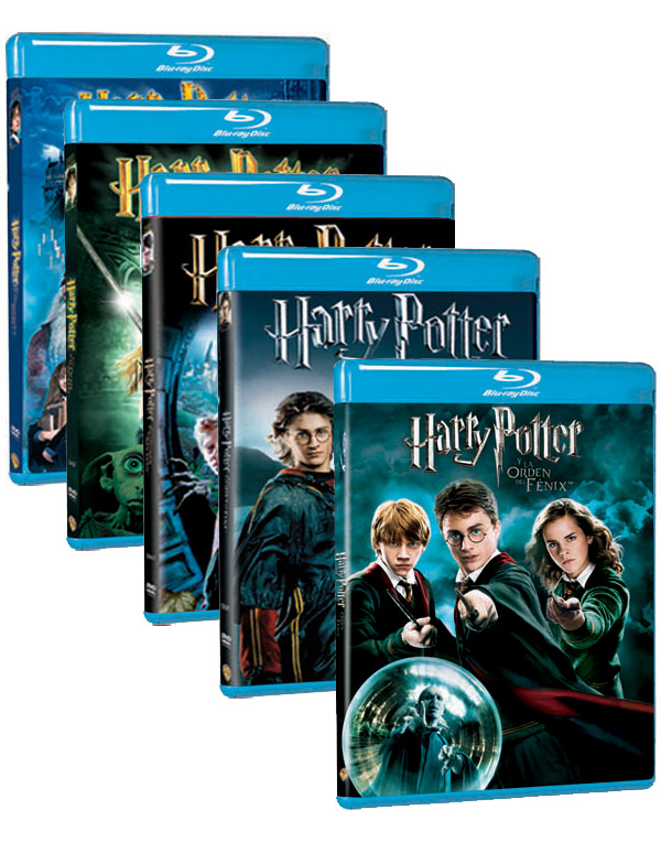 DVDs Blu-Ray de Harry Potter