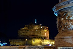 Castel Sant'Angelo (Liberty Place) Tags: light italy roma luz night noche europa europe italia searchthebest luci nuit statua notte italie castelsantangelo lazio scultura cubism blueribbonwinner bej abigfave platinumphoto anawesomeshot theunforgettablepictures goldstaraward rubyphotographer lumieire