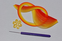 First Quilled Flower by michl_007