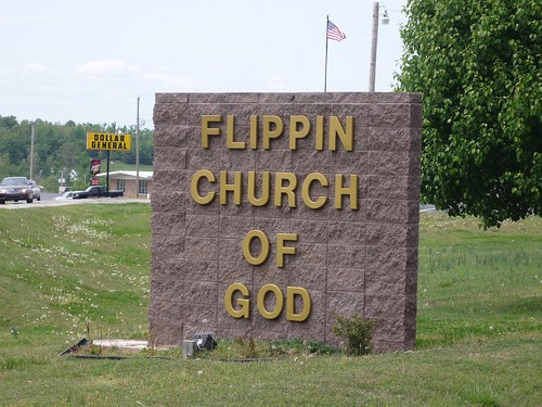 Flippin church by uberculture