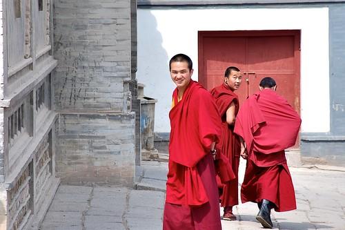 塔爾寺的喇嘛師父