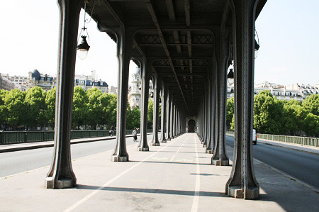 Pont De Bir-Hakeim Bridge. by D. Nice
