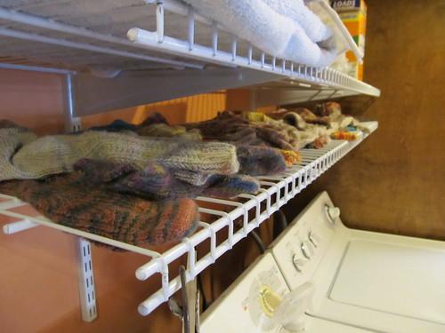 Sock drying rack