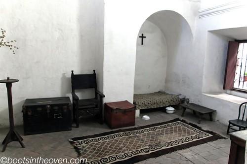 """Inside a nun's """"cell"""""""