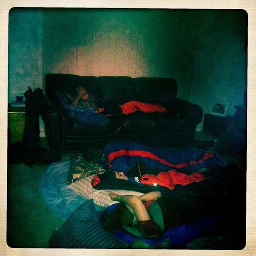 Sleepover. Day 193/365.