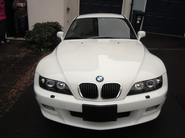 2002 Z3 Coupe | Alpine White | Black | Automatic | Japan