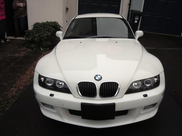 2002 Z3 Coupe | Alpine White | Black | Automatic | Japan