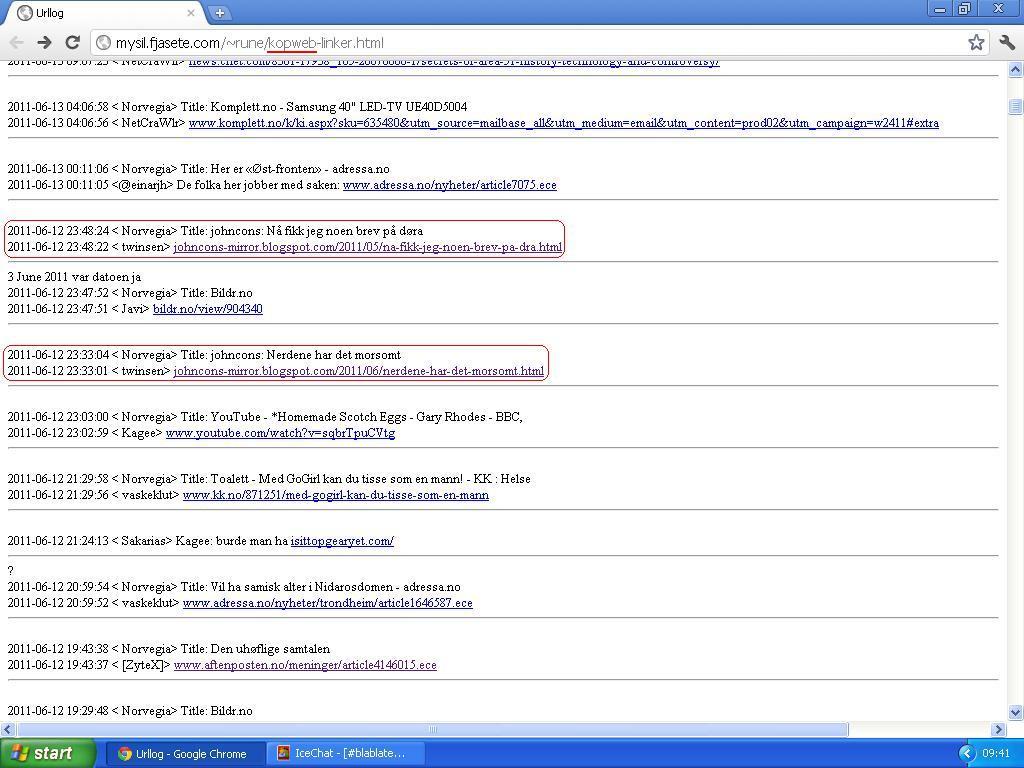 kopweb linker til også til bloggen