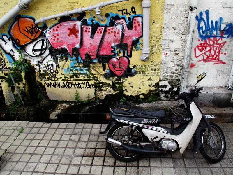Graffiti @ KL Malaysia