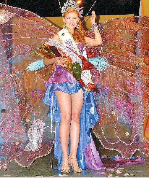 Reina de los IX Carnavales de Barquisimeto