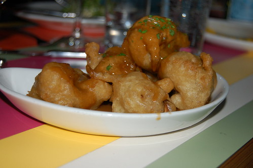 Tempura Fried Cremini Mushrooms